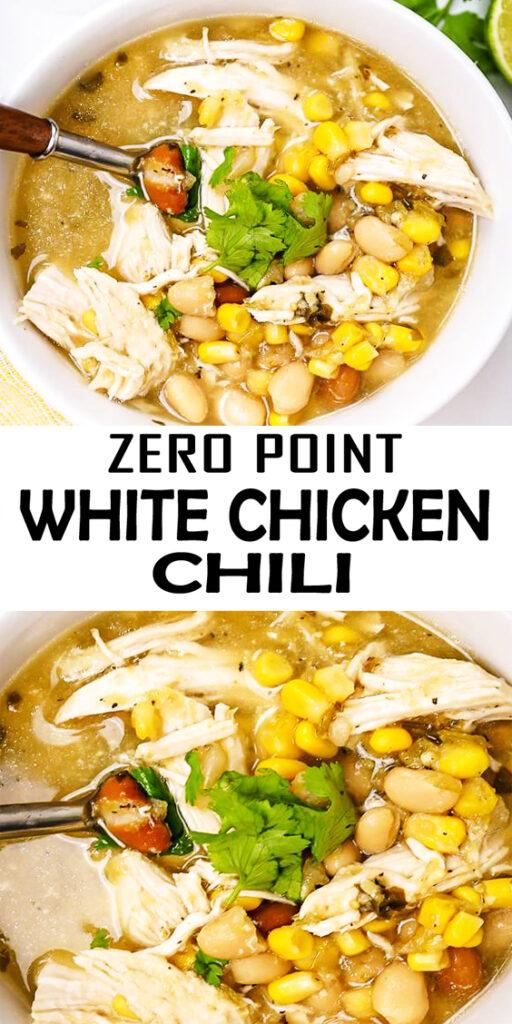Zero Point Weight Watchers White Chicken Chili Recipe